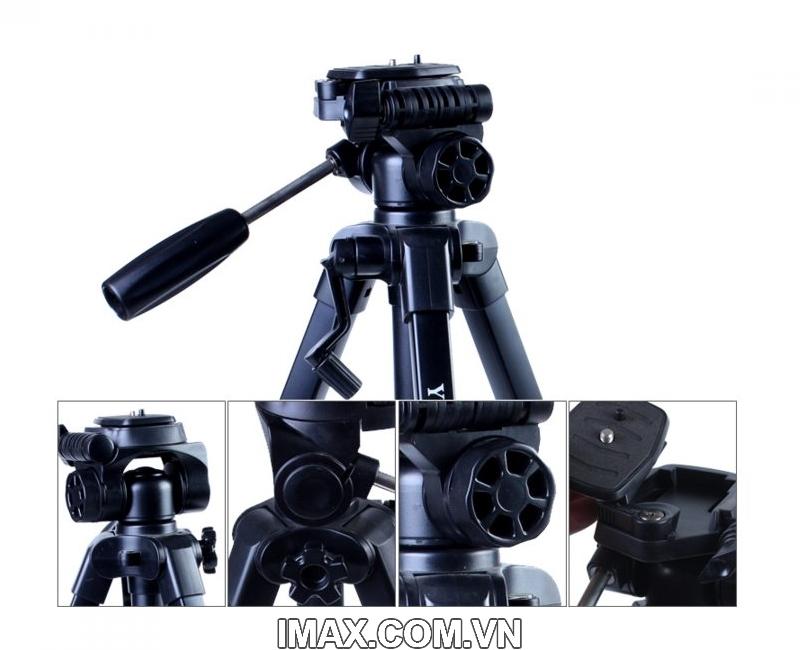 Chân máy ảnh / Tripod Yunteng 668 4