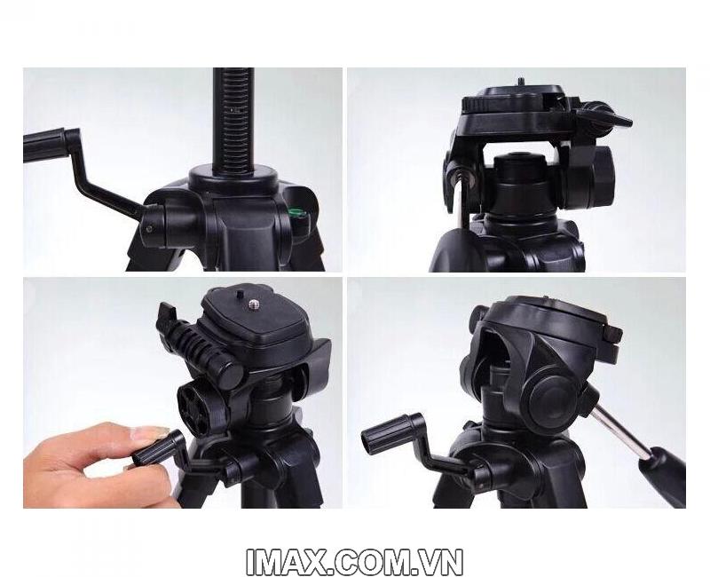 Chân máy ảnh / Tripod Yunteng 668 5