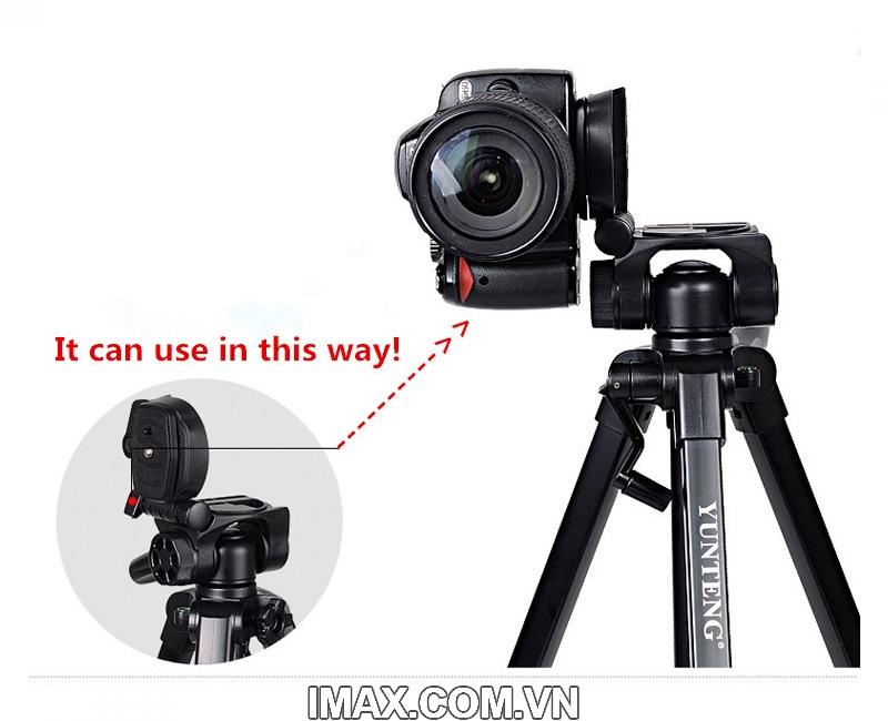Chân máy ảnh / Tripod Yunteng 668 10