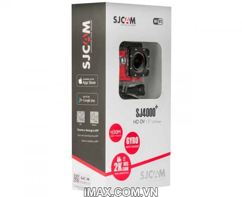 Camera SJCAM SJ4000+ (SJ4000 Plus) 2K. Tặng Combo Phụ kiện 3