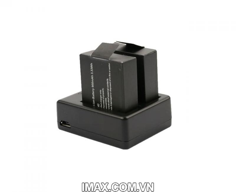 Dock sạc pin đôi cho SJCAM SJ4000, SJ5000, M10 2