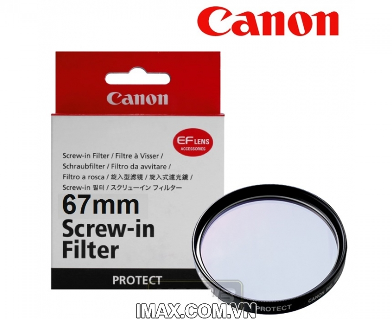 Filter UV Canon 67mm 1