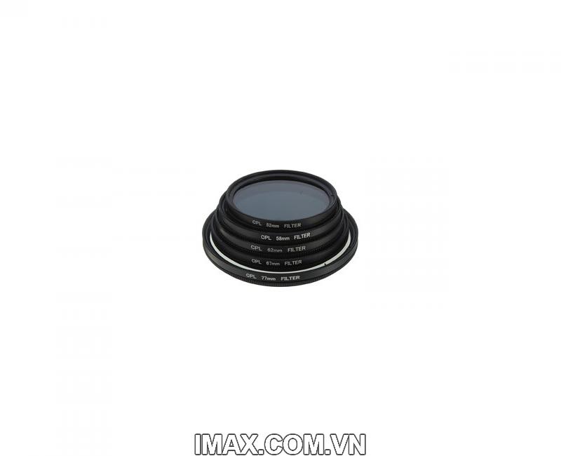 Kính lọc phân cực chống lóa Filter CPL Canon 62mm 1