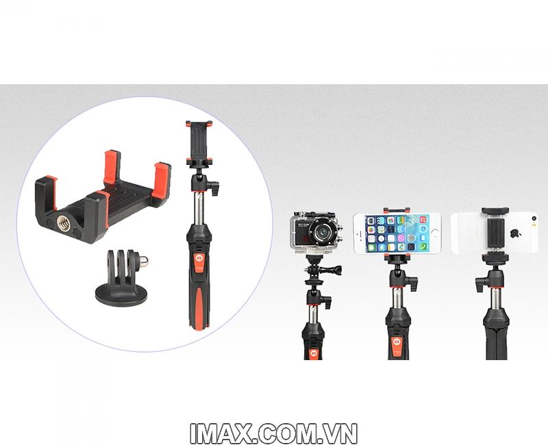 Tripod/Monopod/ Gậy Selfie Benro/Mefoto MK10 5