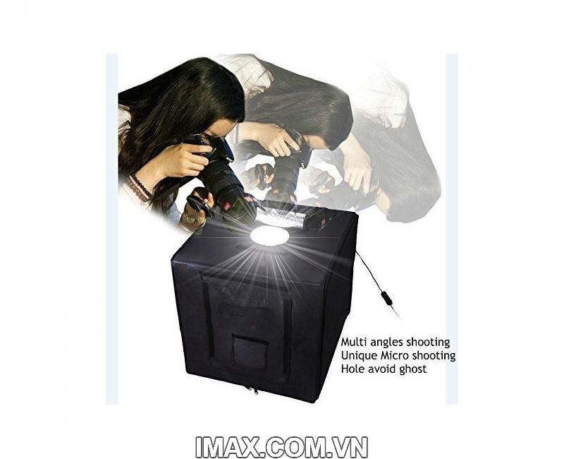 Hộp chụp sản phẩm Seny SN-60 Đèn Led siêu sáng cao cấp 60x60cm giá rẻ nhất 1