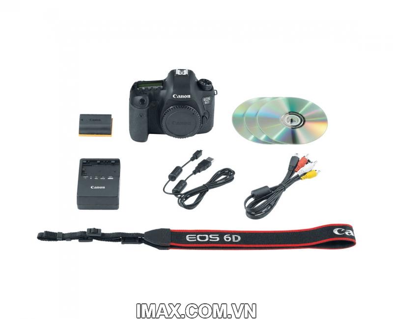 Canon 6D Body, WIFI GPS, Hàng Nhập Khẩu 9
