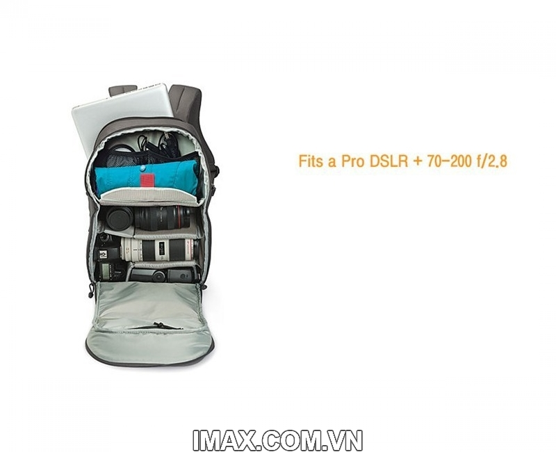 Balo máy ảnh Lowepro Transit Backpack 350AW 5