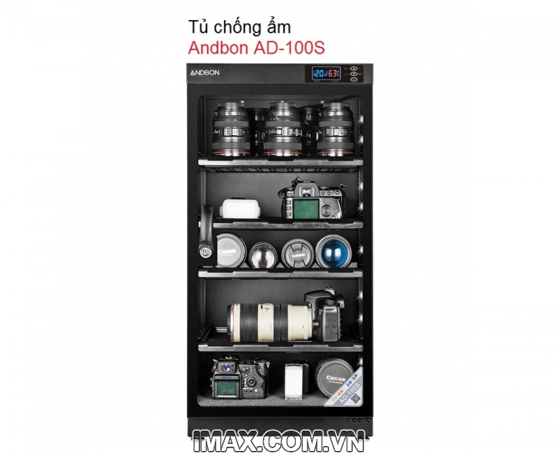 Tủ chống ẩm ANDBON AD-100S 4