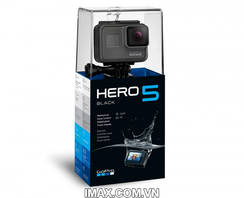 Gopro Hero 5 Black(BH Chính hãng Việt Nam)Tặng gói Combo phụ kiện 22