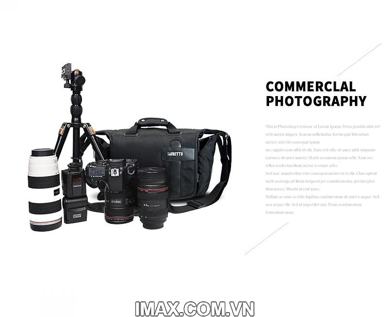 Túi máy ảnh Safrotto SP-001, chống nước 10