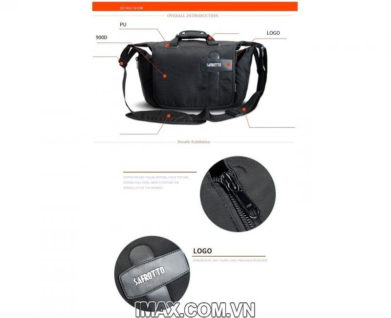 Túi máy ảnh Safrotto SP-002, chống nước 6
