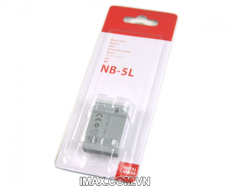Pin for Canon NB-5L, Dung lượng cao 3
