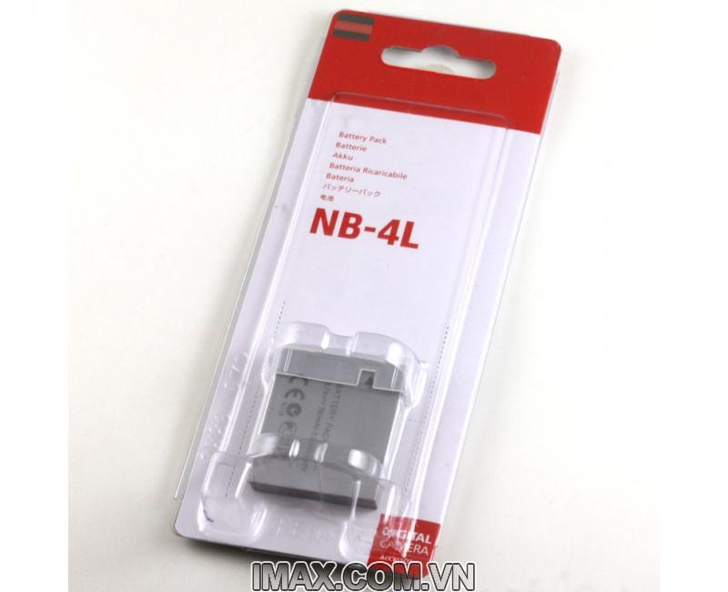 Pin Canon NB-4L, Dung lượng cao 1