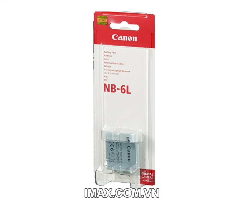 Pin Canon NB-6L, Dung lượng cao 1