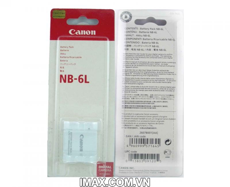 Pin Canon NB-6L, Dung lượng cao 2