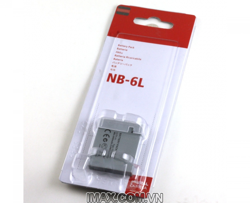 Pin Canon NB-6L, Dung lượng cao 5