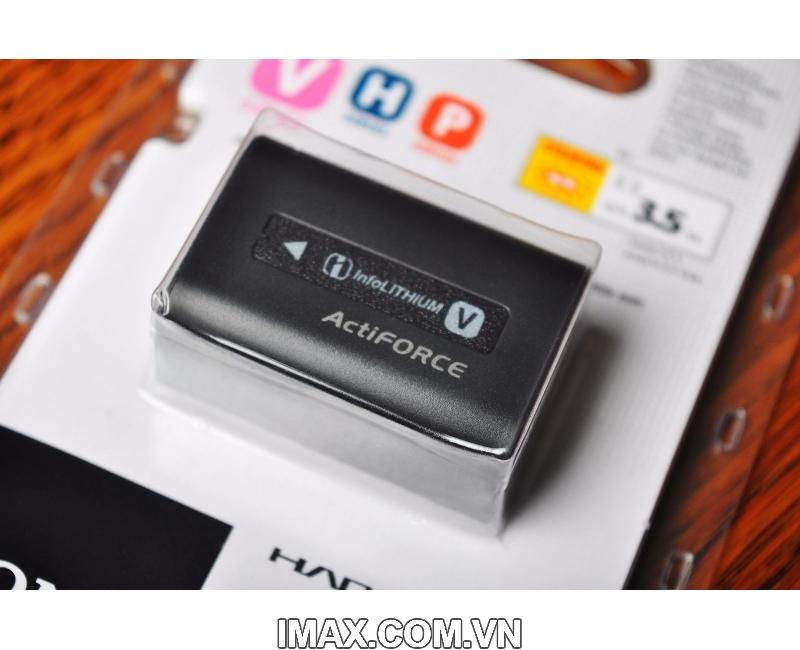 Pin Sony NP-FV50, Dung lượng cao 3