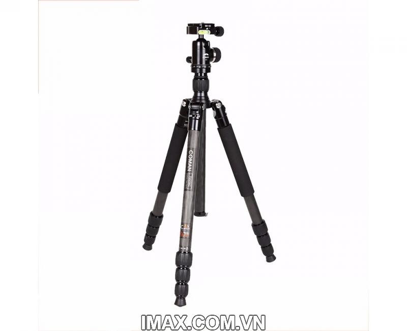 Chân máy ảnh Coman TM256CC0, Carbon 1