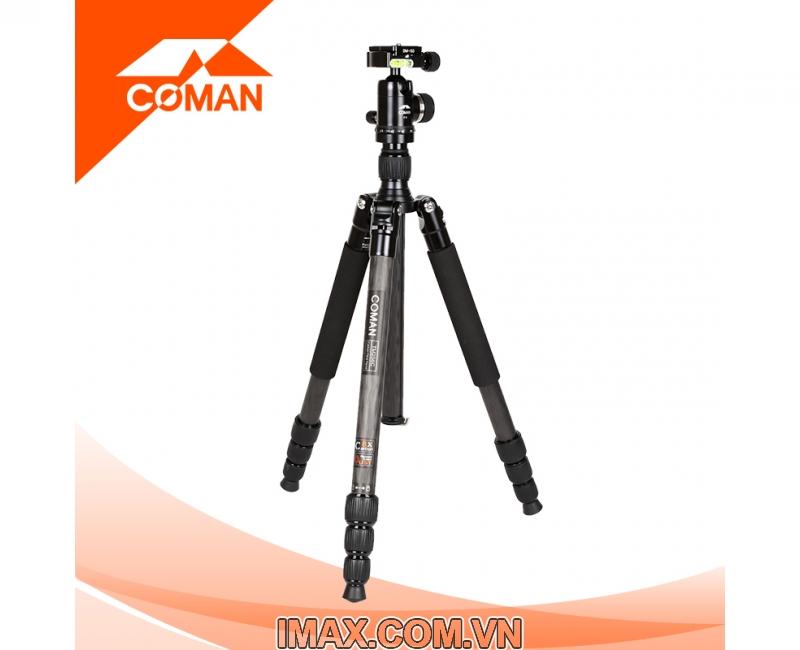 Chân máy ảnh Coman TM257CC0, Carbon 1