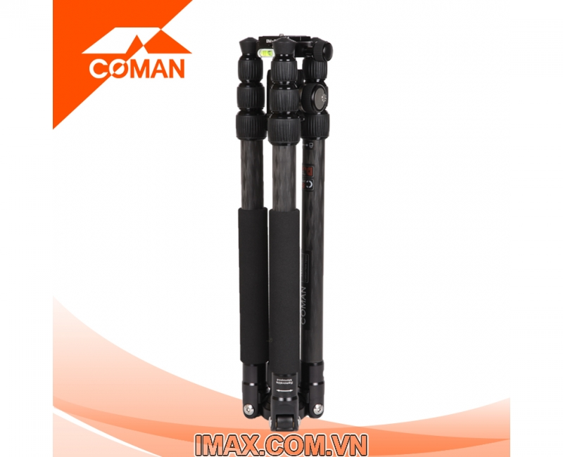 Chân máy ảnh Coman TM257CC0, Carbon 3