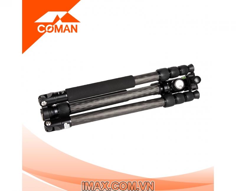 Chân máy ảnh Coman TM257CC0, Carbon 4