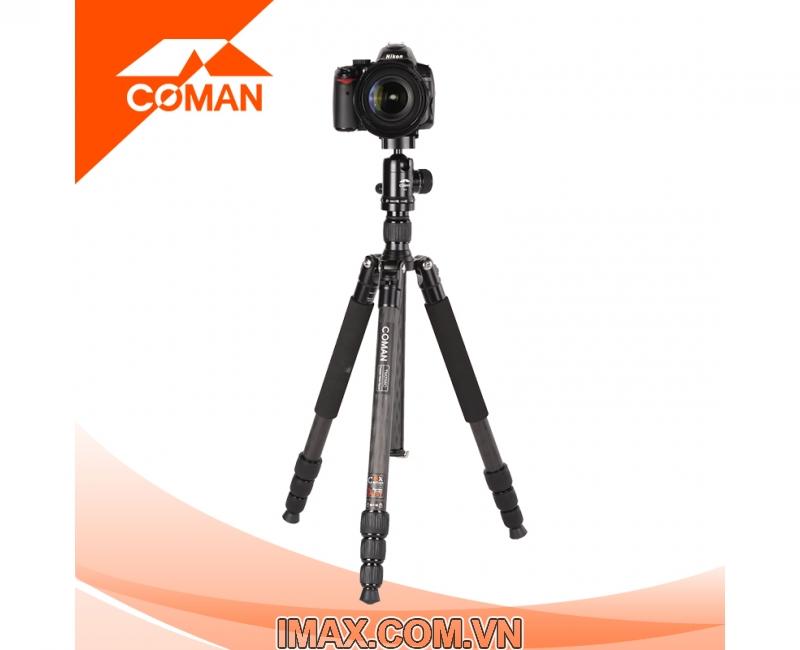 Chân máy ảnh Coman TM257CC0, Carbon 5