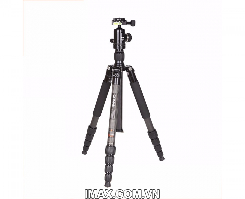 Chân máy ảnh Coman TM257CC0, Carbon 6