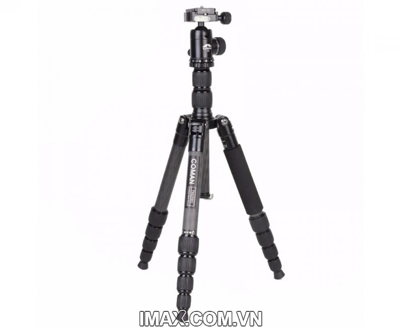 Chân máy ảnh Coman TM258CC0, Carbon 1