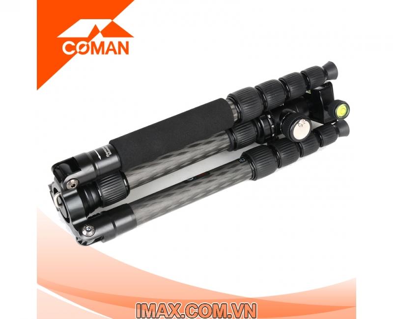 Chân máy ảnh Coman TM258CC0, Carbon 3
