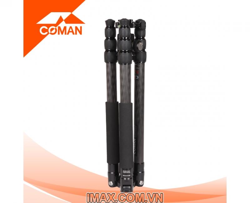 Chân máy ảnh Coman TM286CC1, Carbon 3