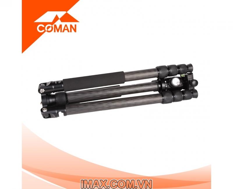 Chân máy ảnh Coman TM386CC3, Carbon 2