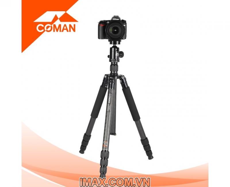 Chân máy ảnh Coman TM386CC3, Carbon 3