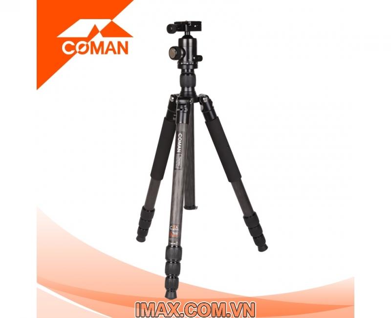 Chân máy ảnh Coman TM386CC3, Carbon 4