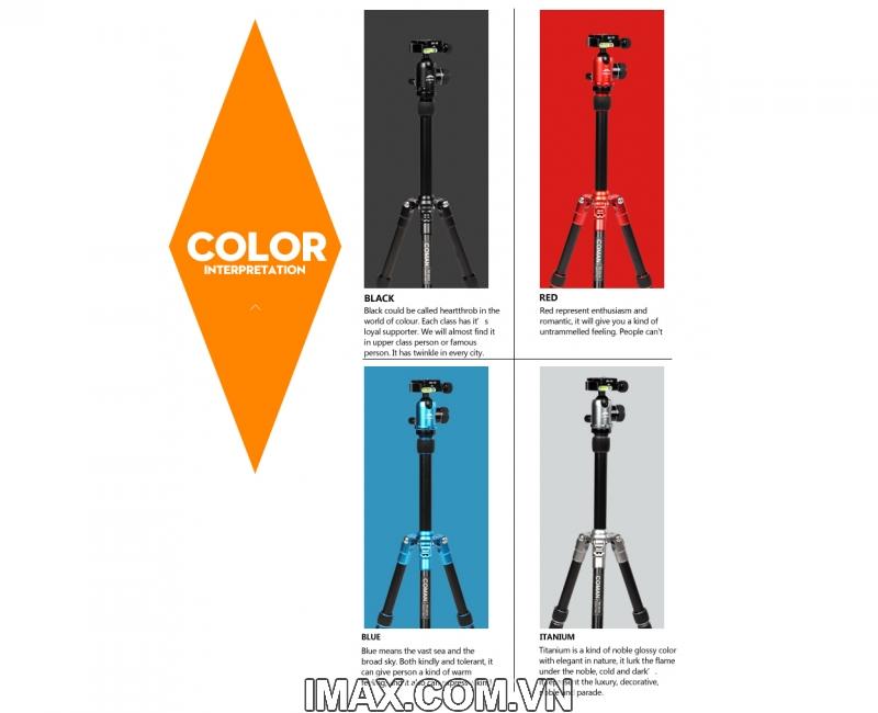 Chân máy ảnh Coman TM227AU0 3