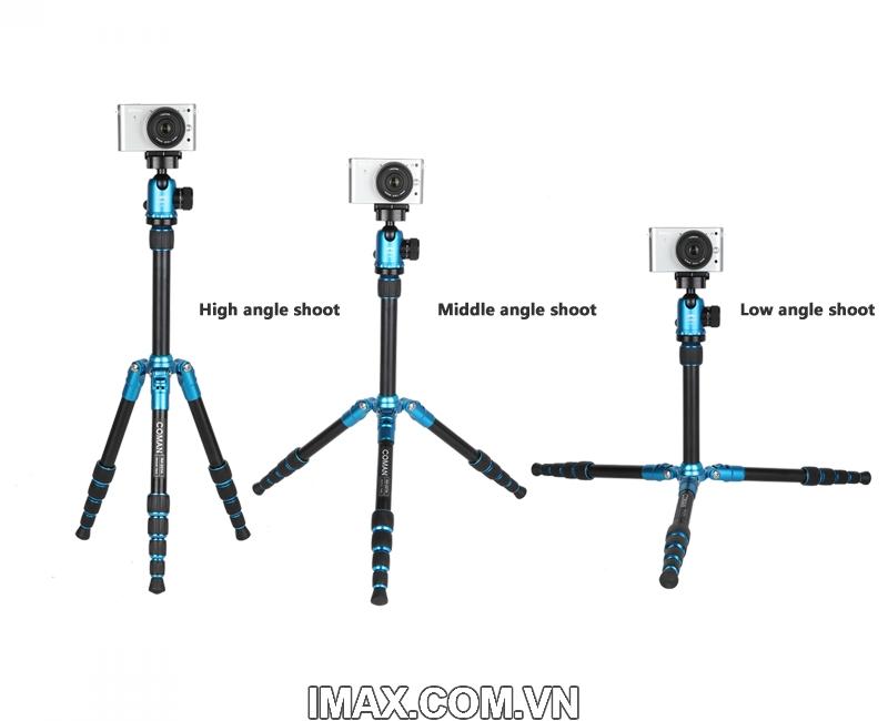 Chân máy ảnh Coman TM227AU0 18