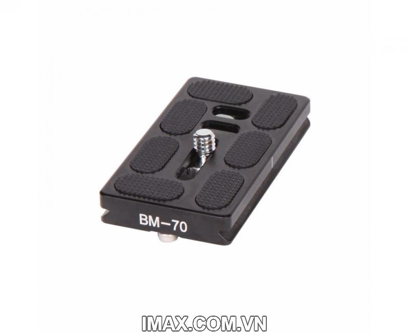 Plate BM-70 of Chân máy ảnh Coman 1