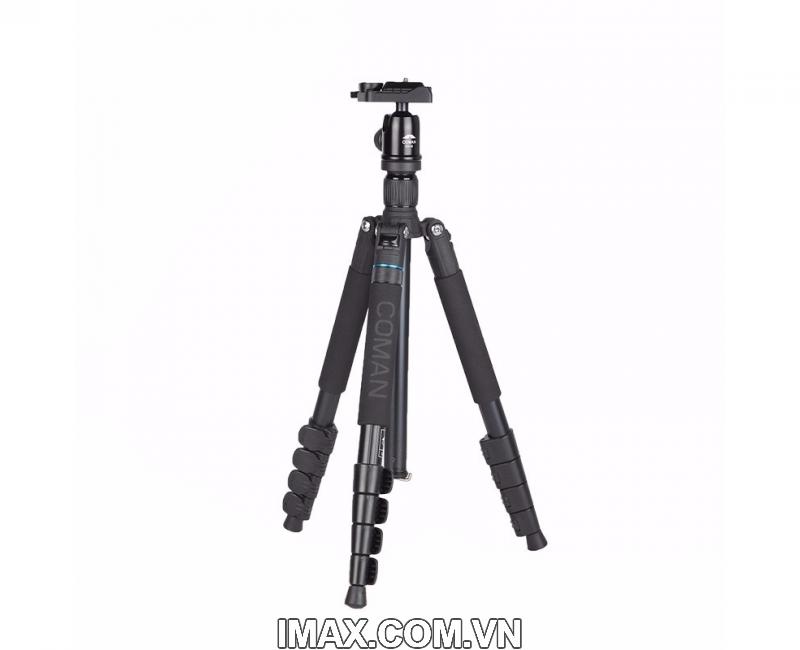 Chân máy ảnh Coman TK-257+CV-0 1