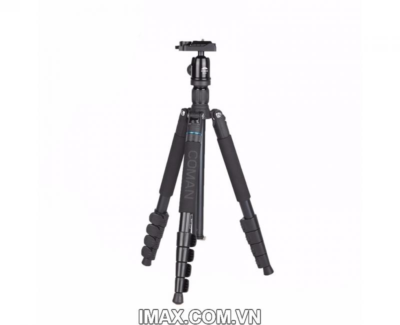 Chân máy ảnh Coman TK-287+CV-1 1