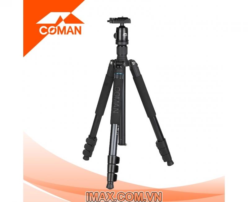 Chân máy ảnh Coman TK-287+CV-1 2