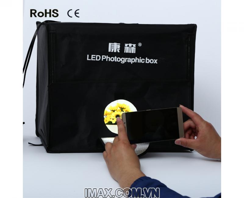 Hộp chụp sản phẩm CiYa CY-40 có đèn LED (40x40cm) 1