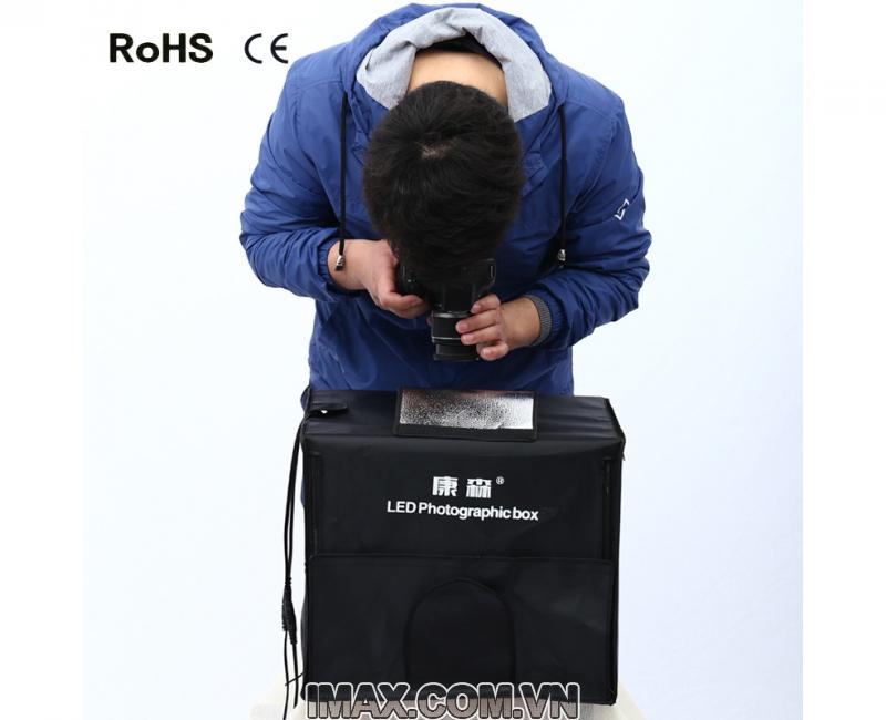 Hộp chụp sản phẩm CiYa CY-40 có đèn LED (40x40cm) 3