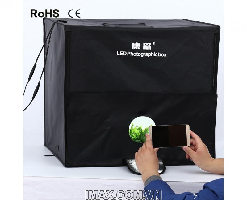 Hộp chụp sản phẩm CiYa CY-40 có đèn LED (40x40cm) 4