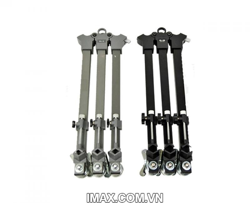 Chân máy quay Libec DL-2B, Bánh xe (dolly) dùng cho các dòng chân máy TH-650DV, TH-650HD, TH950DV, LS22 2