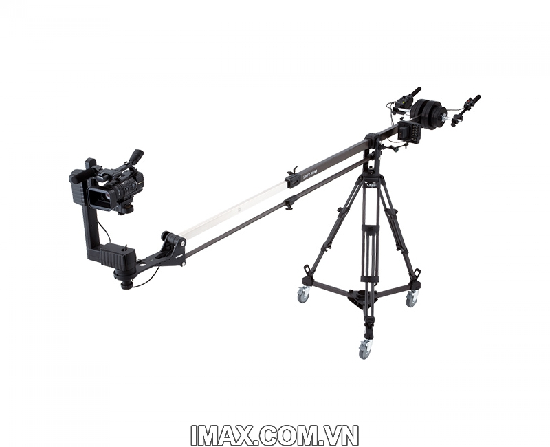 Chân máy quay Libec DL-2B, Bánh xe (dolly) dùng cho các dòng chân máy TH-650DV, TH-650HD, TH950DV, LS22 6