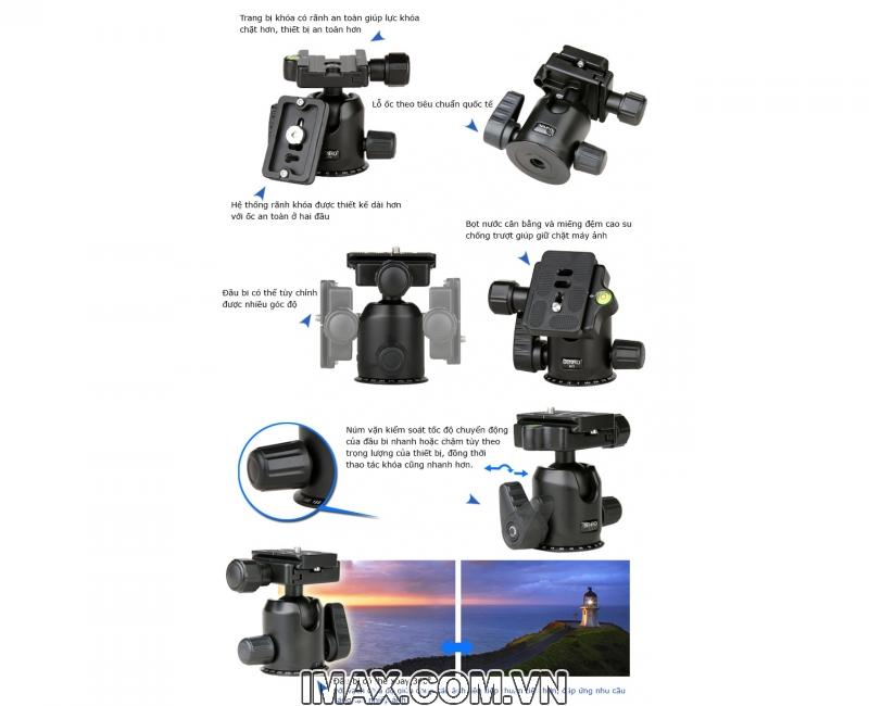 Chân máy ảnh Benro A650FN2 2