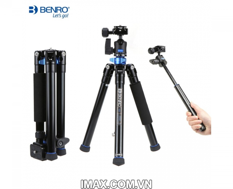 Chân máy ảnh Benro FIA09 (FIA09+BT01+MH1+BRM1) 1