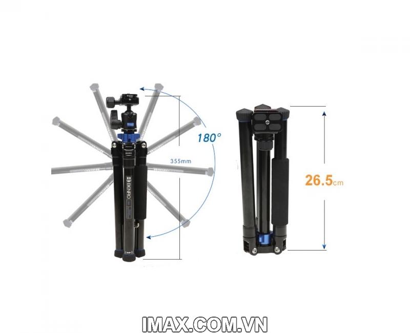 Chân máy ảnh Benro FIA09 (FIA09+BT01+MH1+BRM1) 7