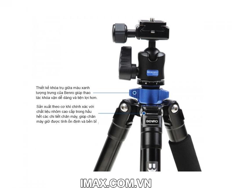 Chân máy ảnh Benro FIA09 (FIA09+BT01+MH1+BRM1) 8
