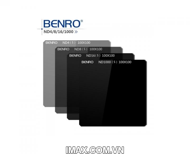 KINH LỌC FILTER VUÔNG BENRO MASTER ND16/64/256/1000 (S) 100MM 1