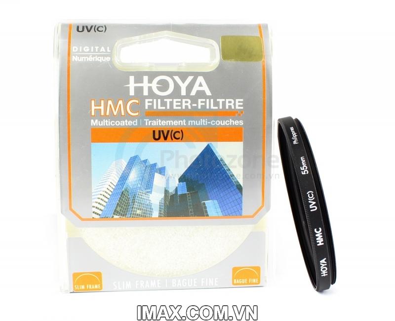 Kính lọc Filter Hoya HMC UV 55mm 10